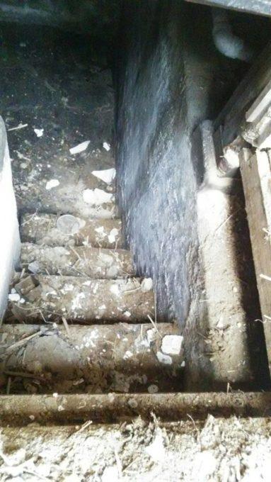 画像:I様邸の地下の写真