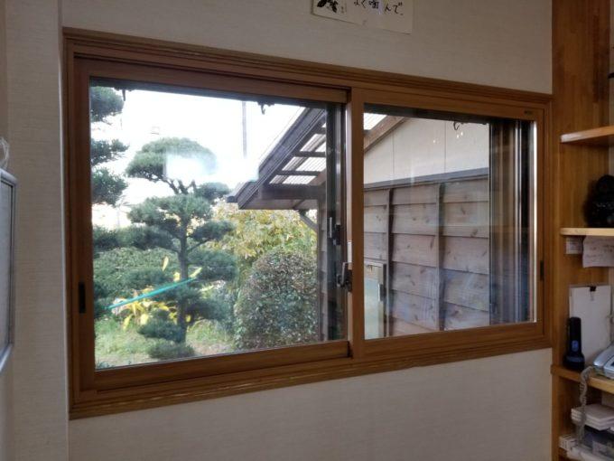 画像:O様邸 ダイニング窓内窓取付後の写真