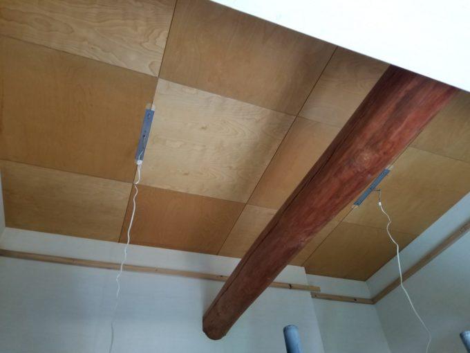 画像:O様邸 吹抜け天井工事前の写真