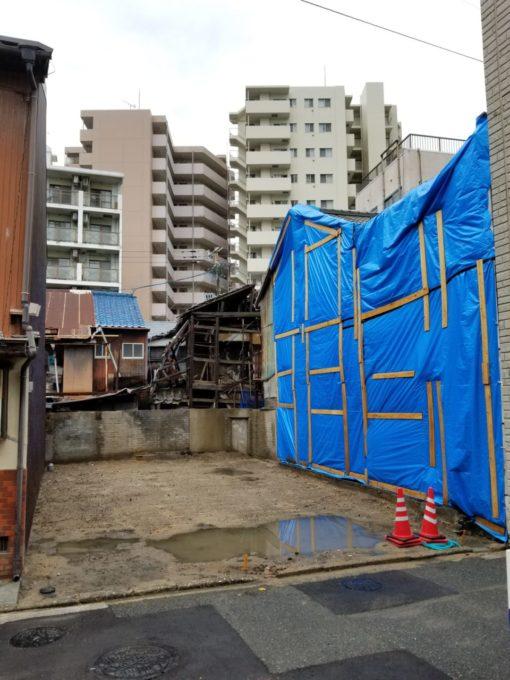 画像:I様邸の解体後の写真