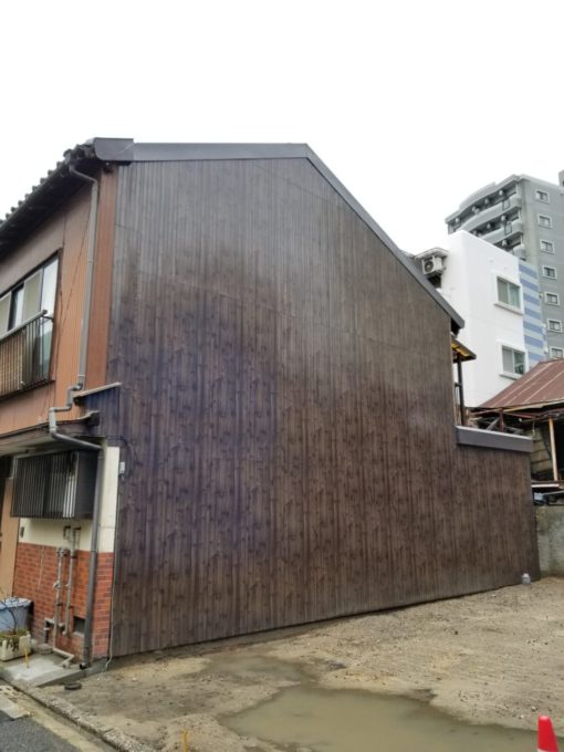 画像:I様邸 隣家外壁補修後の写真