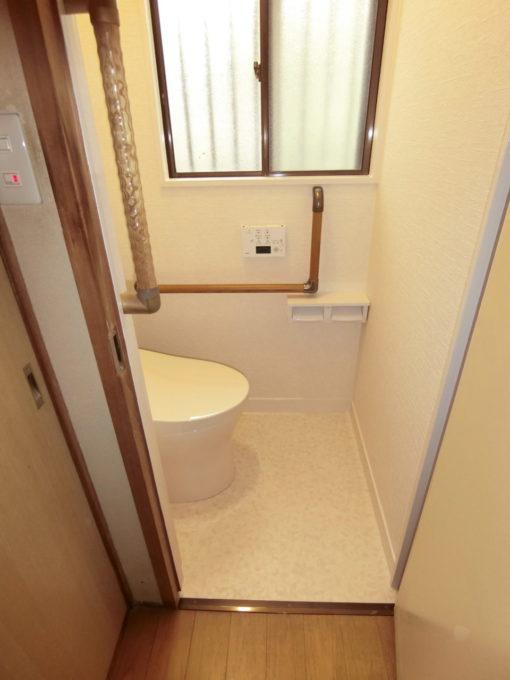 画像:O様邸 1Fトイレ施工後の写真