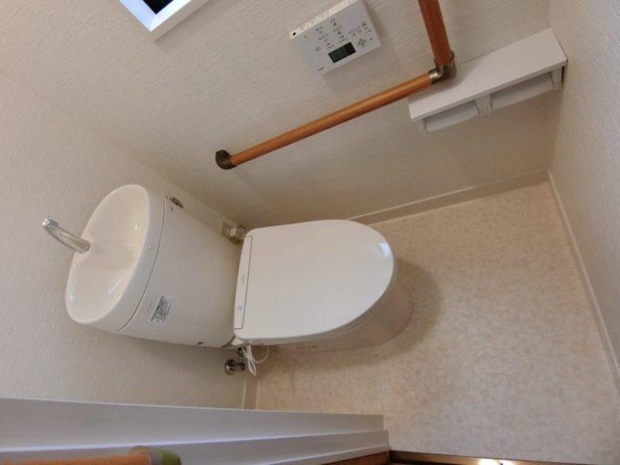 画像:O様邸 トイレ施工後の写真