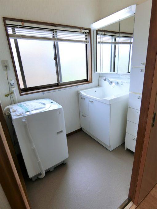 画像:O様邸 洗面脱衣室の施工後の写真