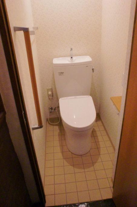 画像:A様のトイレ施工後の写真