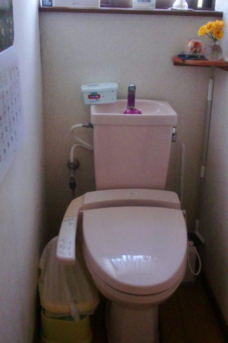 画像:O様邸 2階トイレ施工前の写真