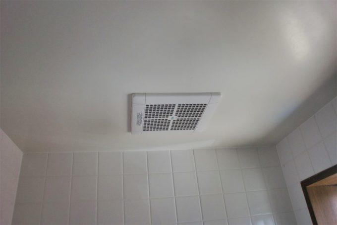 画像:O様邸 浴室換気扇、施工後の写真