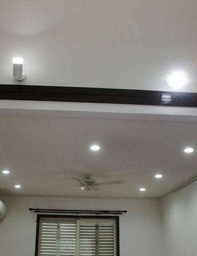 照明設置工事