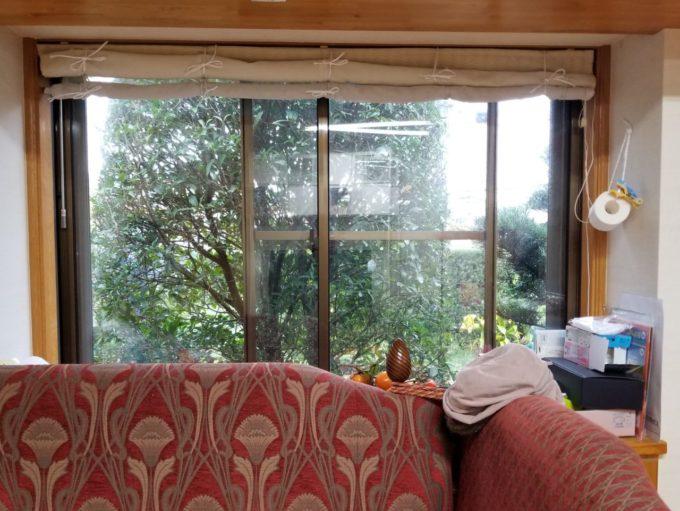 画像:O様 リビング窓の施工前の写真