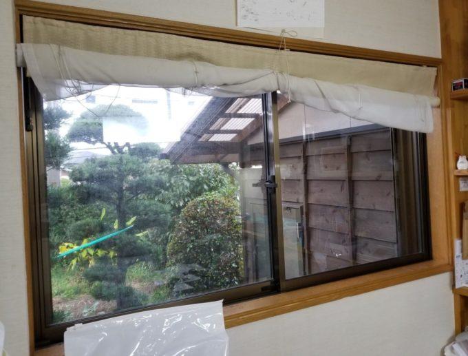 画像:O様 ダイニング窓の施工前の写真