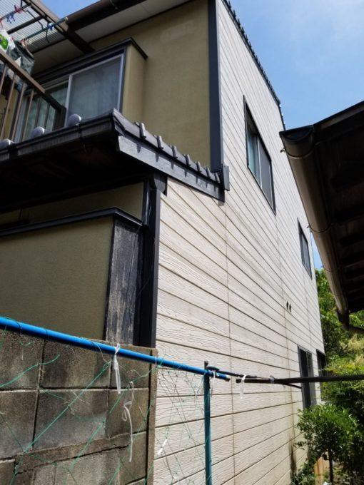 画像:N様邸 外壁(サイディング)塗装前の写真