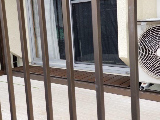 画像:N様邸 バルコニー濡れ縁 施工後の写真