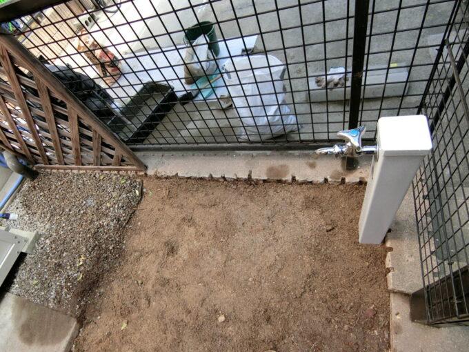 画像:M様邸 外部水栓移設後の写真