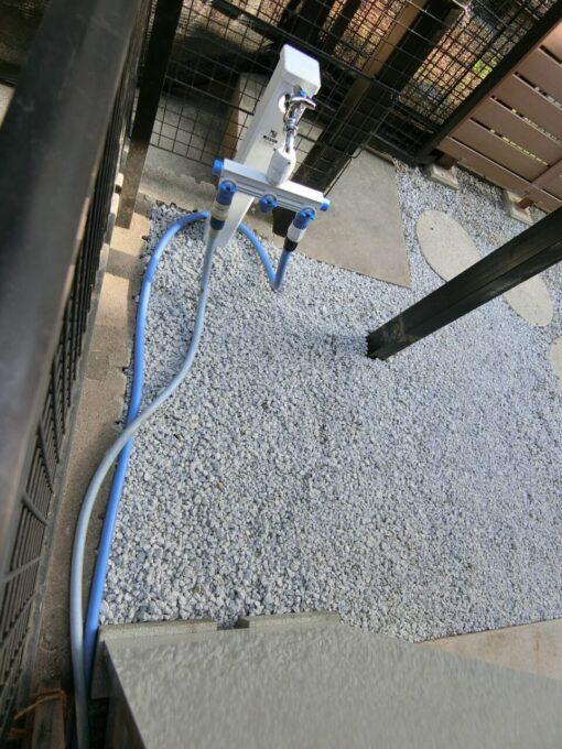 画像:M様邸 外部水栓施工後の後日の写真