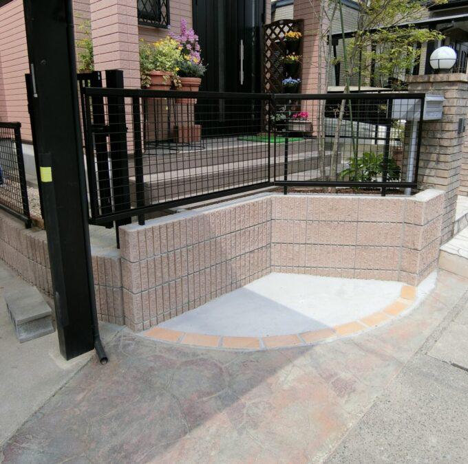 画像:M様邸 駐輪スペース施工後の写真