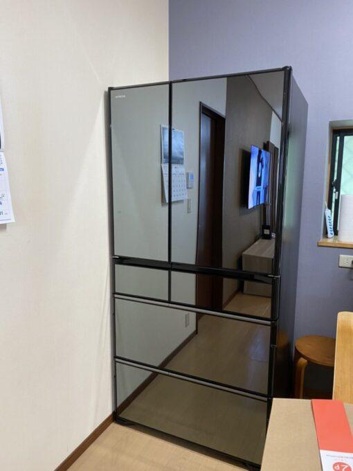 画像:I様邸 工事完了後の新しい冷蔵庫の写真