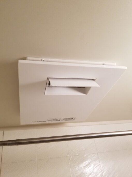 画像:K様邸 浴室暖房換気乾燥機 施工後の写真