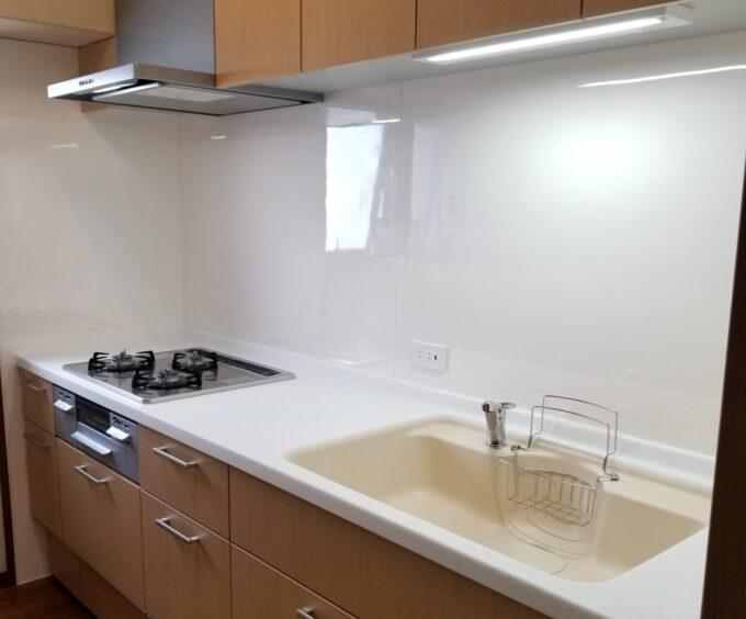 画像:K様邸 キッチン施工後の画像