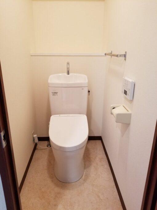 画像:トイレ施工後の写真
