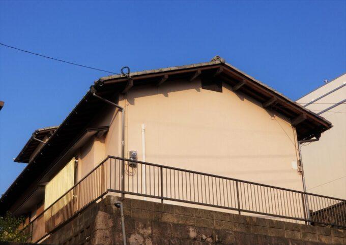 画像:K様邸 塗装前(建物裏)