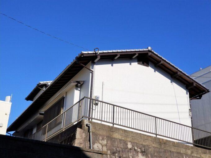 画像:K様邸 塗装後(建物裏)