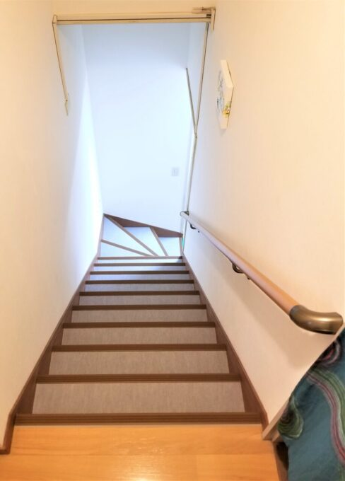 画像:T様邸 階段 施工後の写真
