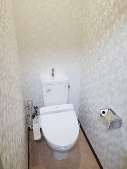 画像:T様邸 トイレ内装 施工後の写真