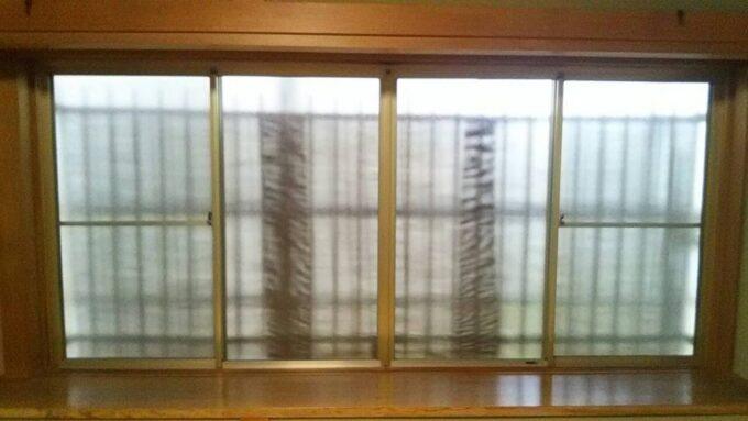 画像:K様邸 サッシ施工前の写真